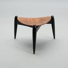 Ilmari Tapiovaara 'Tale', Asko, Finland, 1950s Bukowski, Finland, Vintage Designs, Furniture Design, Stool, Auction, 1950s, Home Decor, Decoration Home