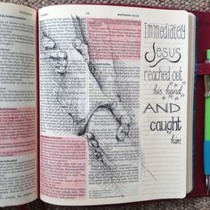 Bold requests and being caught. Stepping out of the boat and walking on water. Matthew 14. Draw Close Blog. Bible art, Bible journaling, study and devotion. Hands.