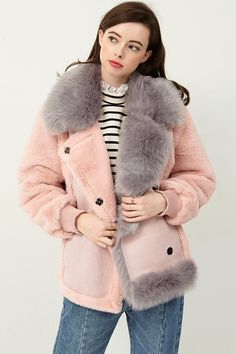 f634c6ddbce Sherry Faux Fur Shearling Coat Discover the latest fashion trends online at  storets.com