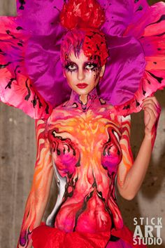 Stick Art Studio » Maquillaje corporal - blog
