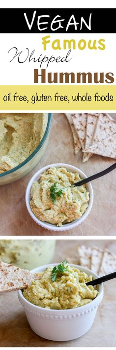 Mom's Famous Whipped Hummus