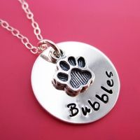 Hand Stamped Personalized Jewelry and Necklaces | byHannahDesign Custom Sterling Silver Creations