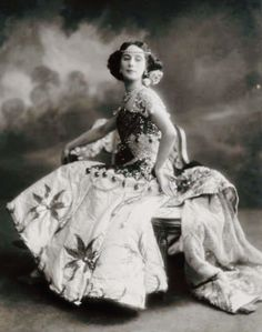 """Anna Pavlova in costume for """"Raymonda,"""" Saint Petersburg, Russia, 1910."""