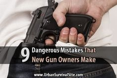Did you get a gun for Christmas? For new gun owners (or actually, ANY gun owners), there are some common mistakes that you'll want to avoid.