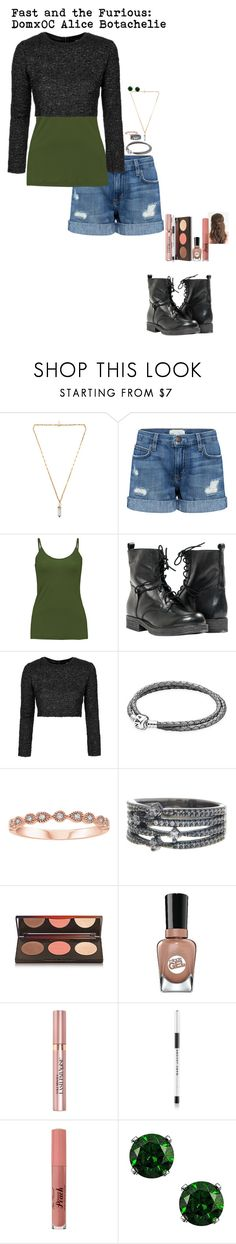 """""""Fast and the Furious: OC Alice Botachelie"""" by oceangirl1995 ❤ liked on Polyvore featuring Isabel Marant, Current/Elliott, Taylor, Paolo Shoes, Topshop, Pandora, Nadri, Sally Hansen, L'Oréal Paris and Marc Jacobs"""