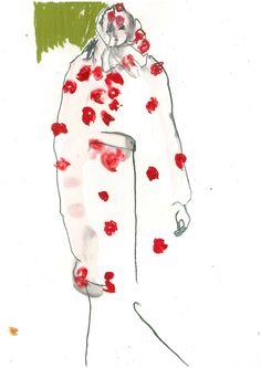 Helen Bullock fashion illustration