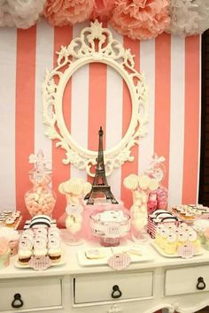 Mesa de dulces de París