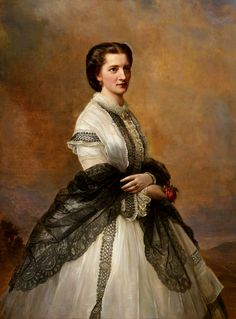 """Joseph Hartmann, """"Portrait of Marie von Klinckowström"""""""