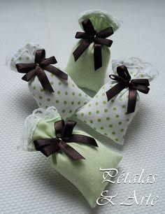 Mini sache perfumado sonho verde.