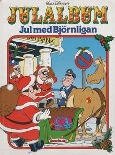 Cover for Walt Disney's julalbum (Serieförlaget [1980-talet]; Hemmets Journal…