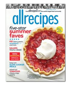 Another great find on #zulily! Allrecipes Magazine Subscription #zulilyfinds