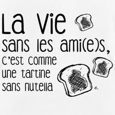 e The Boutique for younger and outdated Life with out pals Natural Tank High Life Quotes Love, Best Quotes, Quote Citation, French Quotes, Positive Attitude, Boutique, Nutella, Slogan, Decir No