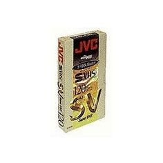 Professional Grade S-VHS Videocassette by JVC. $9.54. Svhs Tape Specially Designed For Professional Mastering High-energy Magnetic Particles Long Lasting S-udd Binder Multi-linear Orientation Sp: 2 Hours.. Save 32%!