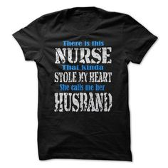FOR NURSES HUSBAND T Shirts, Hoodies, Sweatshirts. CHECK PRICE ==► https://www.sunfrog.com/Funny/FOR-NURSES-HUSBAND.html?41382