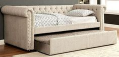 Verona Twin Size Upholstered Daybed