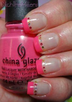 Ditch the Mittens #nail #nails #nailart
