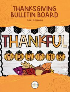 Check out this beautiful, festive, and super easy Thanksgiving bulletin board kit for the classroom. Beautiful Thanksgiving classroom bulletin board display! This display will be perfect for your preschool, kindergarten, elementary school, middle school or homeschool classroom! Thanksgiving bulletin board ideas for school. Holiday bulletin board ideas. Holiday classroom. Thanksgiving classroom decoration. Thanksgiving classroom decor ideas. #teacher #classroom #bulletinboard Fall Classroom Decorations, Preschool Classroom Decor, High School Classroom, Classroom Walls, Homeschool High School, Preschool Kindergarten, Elementary Schools, Holiday Bulletin Boards, Thanksgiving Bulletin Boards