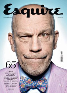 It's like Mr. Malkovich failed the i-D audition. The bow tie and shirt are the real heroes of this pic.