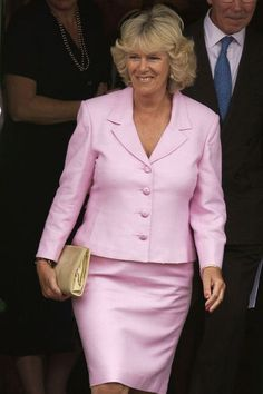 Camilla Parker-Bowles, the Duchess of Cornwall, has dressed in a number of stylish outfits for royal engagements, weddings, and more. Womens Institute, Camilla Duchess Of Cornwall, Jacqueline Bisset, Camilla Parker Bowles, Fuchsia Dress, Prince Charles And Camilla, Lavender Dresses, Pink Suit, Royal Engagement