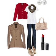 """Sport-casual afternoon"" by ladymilla on Polyvore"