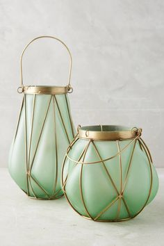 Anthropologie Seaglass Latern