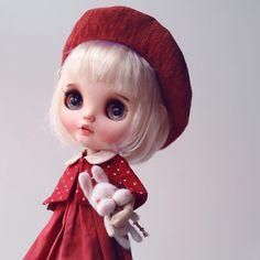 135 отметок «Нравится», 8 комментариев — KEN  (@k07doll) в Instagram: «#simplyvanilla #blythe #customblythe #doll #k07 #k07doll»