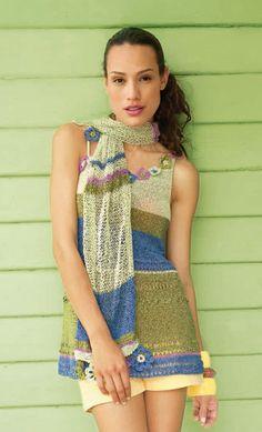 Lana Grossa SCHAL Divino/Secondo - FILATI Handstrick No. 44 - Modell 46 | FILATI.cc WebShop