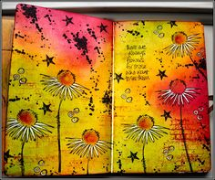 Creativity: Creative attic .. with a journal page; Apr 2014