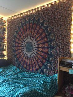 Amazon.com: Rajasthali Colors of Rajasthan Mandala Multi Purpose Cloth, 95 x 85 Inch: Kitchen & Dining