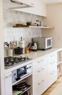 very tiny kitchen