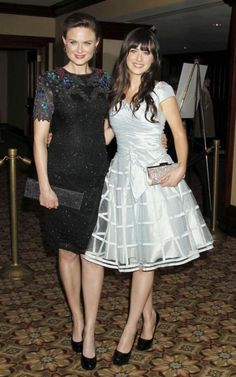Sister style - Zooey and Emily Deschanel