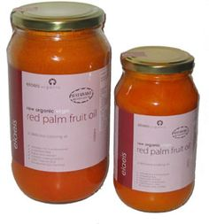 Red fruit palm oil