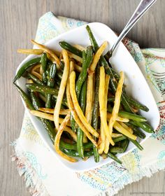 Chinese Stir-Fried Green Beans
