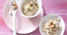 Bircher-Müsli für einen Turbostart in den Tag. 1 Portion des Müsli-Frühstücks deckt etwa 50 % des täglichen Bedarfs.