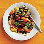 Black Beans and Yellow Rice | Budget Cooking: Feed 4 for $10 | Cooking Light