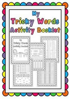 Jolly Phonics Tricky Words Workbook