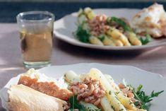 Gemarineerde asperges met garnalen - Recept - Allerhande