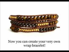 More Wrap Bracelet tutorials