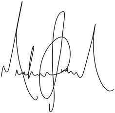 Michael Jackson Signature