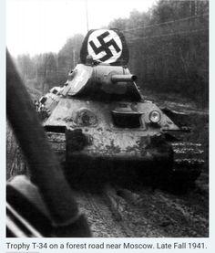 German captured Soviet T34