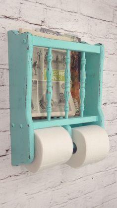 Olha que demais este #porta-revistas e papel higiênico! #decoração #facavocemesmo #DIY