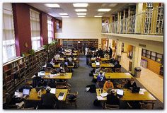 work in a library (technically I've done this during my work study at Fogler Library at UMO, but I mean a real job)