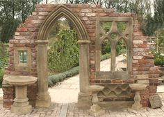 Garden Dreams - England's Gothic Folly Specialists- The Monouth 2445GBP inc vat