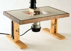 31-WT-1001 - Benchtop Router Table II Woodworking Plan