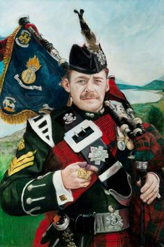 Pipe Major Gordon Walker, Royal Highland Fusiliers; World Famous and award winning piper. IMHO, The finest piper ever!