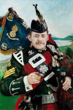 Pipe Major Gordon Walker, Royal Highland Fusiliers