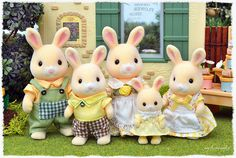 Sylvanian Families - Garden Rabbit Family   Sylvanako   Flickr