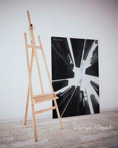 My art. Inspired by NY Acrylic paint+tape