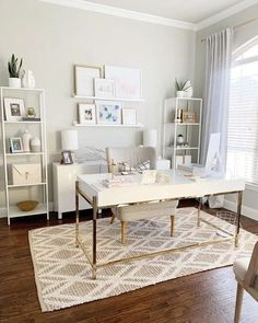 24 Best Home Office Decorating Home Office Decor Working from home has be. 24 Best Home Office Decorating Home Office Decor Working from home has be… – Small Home Office Furniture, Cozy Home Office, Home Office Space, Home Office Desks, At Home Office Ideas, White Desk Home Office, Office In Bedroom Ideas, Apartment Office, Hone Office Ideas