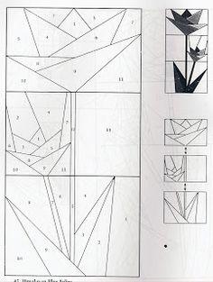 SG patchwork: Flores em foundation